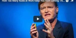 How Too Many Rules at Work Keep You from Getting Things Done